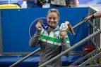 Universiada Neapolyje - lengvosios atletikos varžybų diena ir I. Zarankaitės bronza.