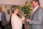 2010.03.25. Olimpinų plaukimo čempioną Robertą Žulpą su 50 metų jubiliejumi pasveikino olimpiečiai
