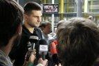 Lietuvos krepšinio rinktinė išskrido į pasaulio čempionatą Turkijoje