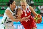 Europos moterų krepšinio čempionatas. Lietuva - Rusija 76:64