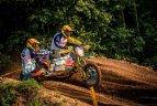 Rokiškis. Trečias Lietuvos motociklų kroso čempionato etapas.