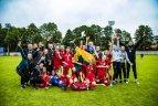 Baltijos septyniolikamečių merginų taurės turnyras. Latvija - Lietuva 3:5