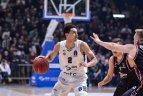 """2019.01.30. Europos taurės turnyras. Belgrado """"Partizan"""" (Serbija) - Vilniaus """"Rytas"""" 77:78"""
