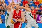 2019.06.24 Europos žaidynės. 3x3. Lietuva - Lenkija 16:19