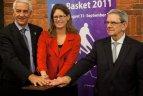 Vilniuje pasirašyta trišalė Lietuvos krepšinio federacijos (LKF), NBA ir FIBA Europe sutartis