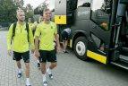Lietuvos futbolo rinktinė pradėjo pasirengimą atrankos mačams su Ukraina ir Portugalija.