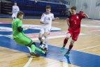 2019.01.13 Salės futbolas. U'19. Lietuva - Latvija 2:4.