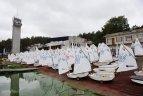"""2019 10 04. Kauno mariose startavo tarptautinė buriavimo regata """"Rudens vėjas""""."""