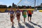 """Tinklinio turnyras """"Tiketa & Orakulas Beachball Cup"""" Vilniuje."""