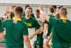 2019 07 15 Lietuvos jaunių vaikinų rinktinė pergale prieš estus pradėjo Baltijos taurės turnyrą.