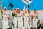 2019 07 10. 18-mečių vaikinų rinktinė kontrolinėse rungtynėse įveikė Latvijos bendraamžius.