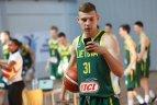 U-19 vaikinų krepšinio rinktinė - pasaulio čempionato fotosesijoje.