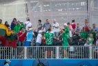 Europos žaidynių paplūdimio tinklinio aštuntfinalis. Lietuva - Lenkija 2:1.