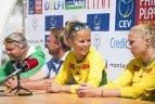 "Europos čempionato ""Satellite"" serijos turnyro etapo Vilniuje pristatymas."