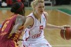 """2010.12.15. Moterų Eurolyga. Kauno """"Viči-Aistės""""- Stambulo """"Galatasaray"""" 91:86"""