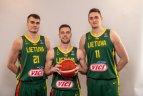 Lietuvos vyrų krepšinio rinktinės tradicinė fotosesija