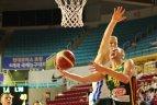 2019 08 27. Kontrolinis turnyras Seule. Lietuva – Čekija.