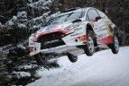 """""""Winter Rally"""" 2019 nugalėjo čekų ekipažas."""