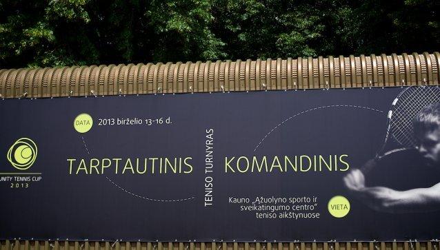 Kaune - tarptautinis komandinis teniso turnyras.