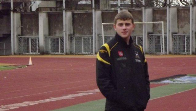 Gino Medvedevo, kuris išvyks žaisti regbio į Pietų Afriką, žaidimo akimirkos