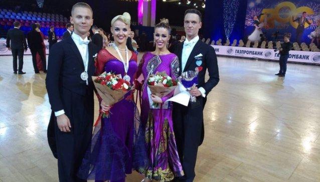 """""""Grand Slam"""" sportinių šokių varžybų finale Rusijoje lietuviai tapo prizininkais ir finalininkais"""