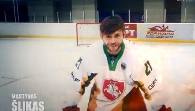 Ledo ritulininkas Martynas Šlikas iki balandžio 20 d. prasidėsiančio pasaulio čempionato Vilniuje nesiskus barzdos.