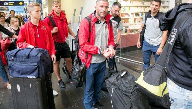 """""""Sūduvos"""" kelionės į Belgradą akimirkos su O. Verbicko komentaru."""