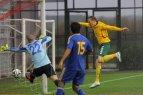 Lietuva - Kazachstanas 1:1. Rungtynių įvarčiai.