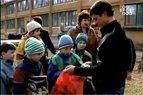 Penkiakovininkas Adrejus Zadneprovskis atnešė dovanų Vilniaus vaikų globos namų auklėtiniams