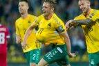 Futbolo rinktinė, kuri žaisdama namie su Liuksemburgu iškovojo pirmąjį tašką, jau atvyko į Serbiją žaisti kito atrankos mačo.
