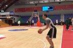 """Benas Matkevičius: """"Reikės žaisti komandiškai ir turėti daug kantrybės""""."""