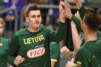 Lietuvos vyrų krepšinio rinktinė atvyko į Stambulą.
