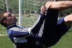 """""""Ekrano"""" puolėjas Arsenijus Buinickis - apie pasirengimą artėjančiam sezonui."""