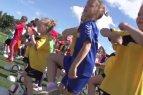 Pasaulinė kampanija, kuri siekia paskatinti merginas ir moteris dalyvauti futbolo veikloje, pasiekė ir Lietuvą