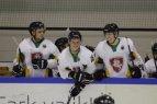 Lietuvos ledo ritulio rinktinė draugiškose rungtynėse įveikė estus.