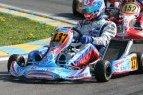 """Simo Juodviršio pasirodymas """"WSK Master Series"""" lenktynėse Italijoje."""