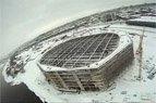 2010.02.17. Statomą Kauno areną galima apžiūrėti ir iš viršaus. Tokią galimybę siūlo www.fotoskrydis.lt
