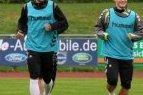 Lietuvos futbolininkai Vokietijoje baigė pasirengimą mačui su Lichtenšteinu.