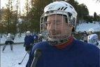 2010.01.25. Ledo ritulio entuziastai džiaugiasi, kad šalta šių metų žiema jiems leidžia sportuoti lauke