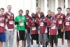 """Panevėžio """"Lietkabelis"""" dalyvavo Vilniaus maratone"""