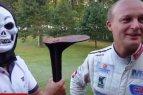 """Lenktynininkai nuotaikingai apie sutrumpintą """"300 Lakes rally"""" trasą"""