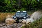 """B. Vanago testai prieš finalinį """"Baltic Rally Trophy"""" etapą Elektrėnuose"""