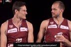 Gintaras Leonavičius mokė Beną Magdeną kalbėti lietuviškai