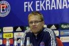 """Trenerių mintys po rungtynių """"Ekranas"""" - """"Hafnarfjordur"""""""