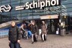 Lietuvos rinktinė atvyko į Amsterdamą.