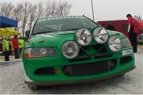 """2010.01.30. Akimirkos iš 2010-ųjų sausio 30-ąją Utenos apylinkėse vykusio  """"Halls Winter Rally 2010″"""