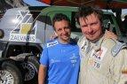 A. Juknevičius apie trečiąjį Dakaro ralio etapą.